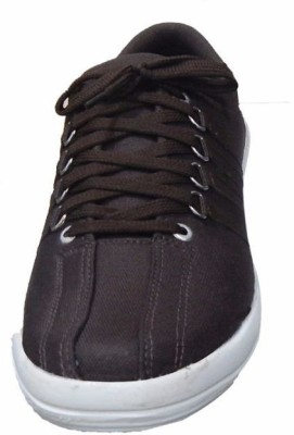 M-Toes M Toes Men Brown Canuas Shoes