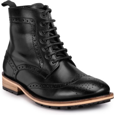Teakwood Boots(Black)