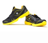 Elligator Running Shoes (Black, Yellow)