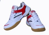 Firefly White & Red Excel Badminton Shoe...