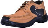 Feetway Outdoor Shoes (Beige, Black)
