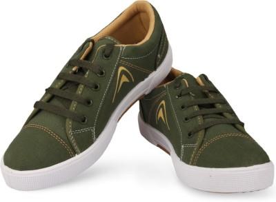 Unistar 5003-Mehandi (OliveGreen) Canvas Shoes