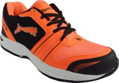 Spot On FKSP-E-251-BLK-ORG Running Shoes