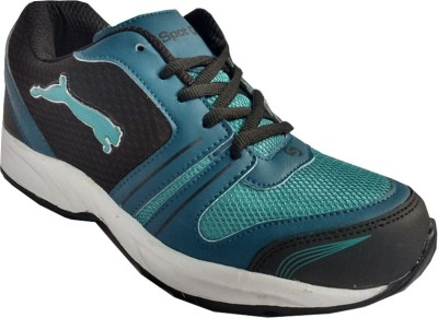Spot On FKSP-E-251-BLK-CGRN Running Shoes