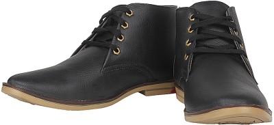 Urban Basket Classy Black Casual Shoes