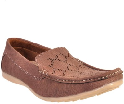 Walk Free Strength Brown Loafers