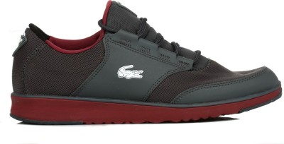 Lacoste Mens Dark Grey L.IGHT TRF5 Trainers Casual Shoes