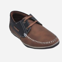Adjoin Steps Casual-01 Outdoor Shoe(Brown)