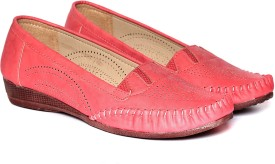 Adorn Latest Fashion Loafers(Red)
