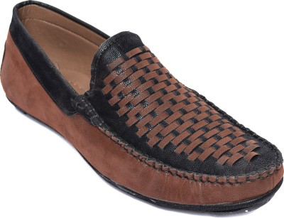 Kamil Brown Loafers