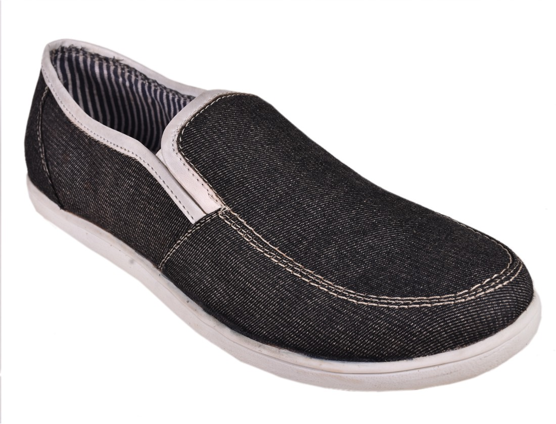 North Union Looks Rich Canvas Shoes(Grey)