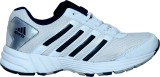Sports 11 Running Shoes (White, Silver)