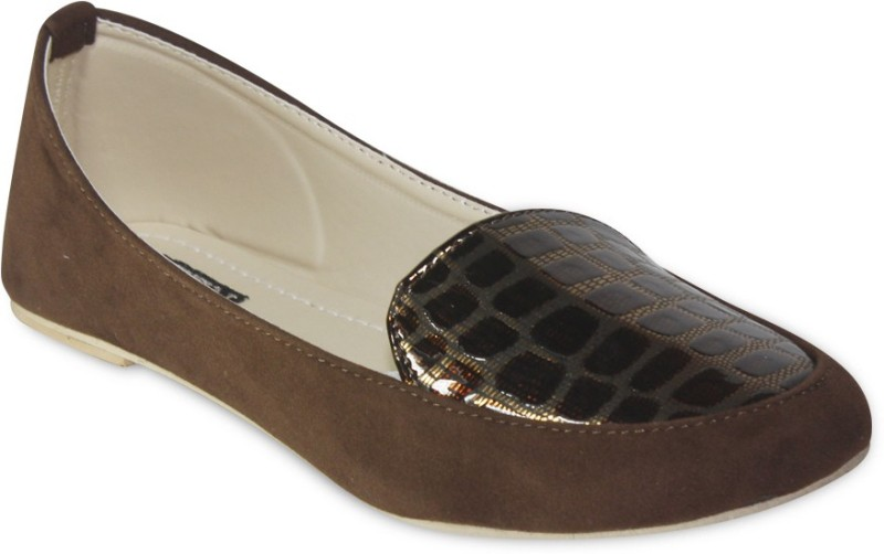 TEN Stylish Loafers(Brown)