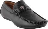 Smart Wood 3502 Blk Loafers Shoe (Black)