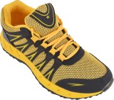 Porcupine Running Shoes (Yellow, Black)