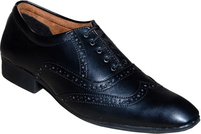 Adam Fit Synthetic-Leather-Brogue-130 Lace Up Shoes