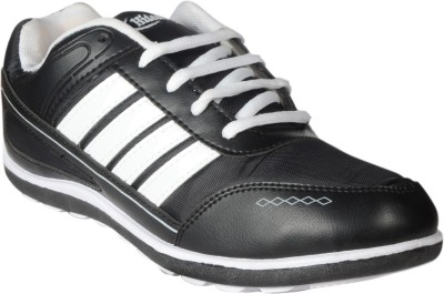 Hitcolus Black & White Casual Shoes
