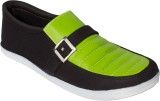 Gito Canvas Shoes (Black, Olive)