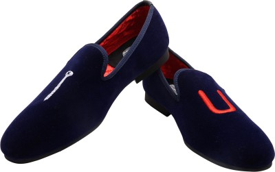 Blu Boot Smart Loafers