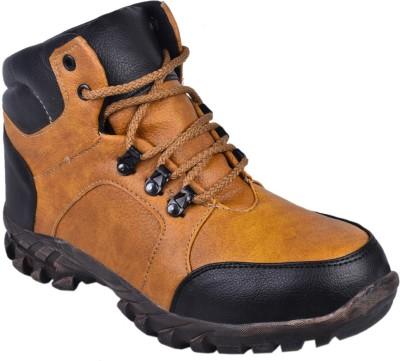 Udenchi UD503BEIGE Steel Toe Safety Boots