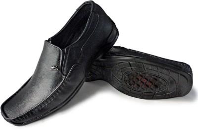 Rock Land Geniune Leather Slip On Shoes