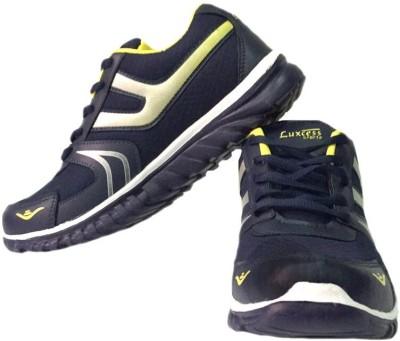 Luxcess Navy Running Shoes