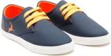 Randier Sneakers (Blue, Orange)