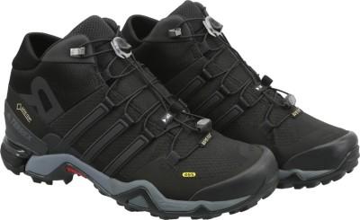 Adidas TERREX FAST R MID GTX Outdoor Shoes(Black) at flipkart