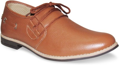 Sapatos Tan Genuine Leather stylish Corporate Casuals Shoes