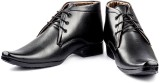 Big Wing Classic Black Lace Up Shoes (Bl...