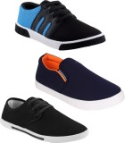 Earton COMBO-347+486+349 Casuals (Black)