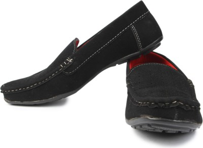 Urban Woods 851-6141-Black Loafers