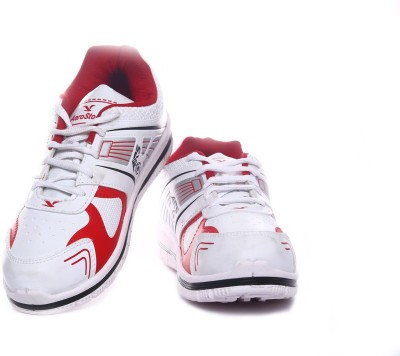 Aerostone ARS-TAP-9-WHITE-RED Running Shoes