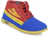 Cox Swain mx56 Sneakers (Red, Yellow)