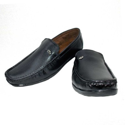 ANP Corporate Black Loafers