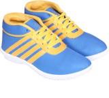 ABK Black Sneakers (Blue)
