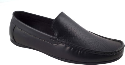 CheX Black Loafers