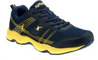 Sparx Stylish Navy Yellow Running Shoes(Navy, Yellow)