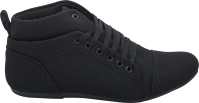 Fashion Feet Stylish Sporty Sneakers(Black)