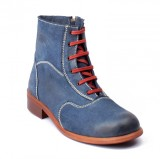 Willywinkies Mens Boots (Blue)