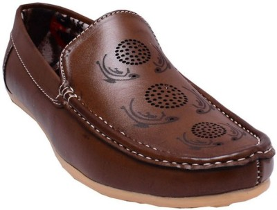 GS Collection Style Loafer Brown Loafers
