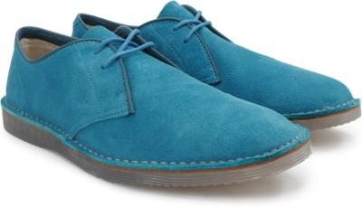 Clarks Darning Walk Petrol Blue Sde Sneakers