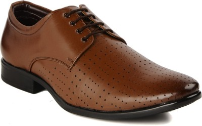 Bruno Manetti 5613 Lace Up Shoes(Tan)