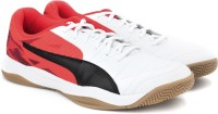 Puma Veloz Indoor III Indoor Shoes(Red, White)