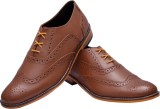 Bxxy Genuine Leather Brogue Lace Up Shoe...