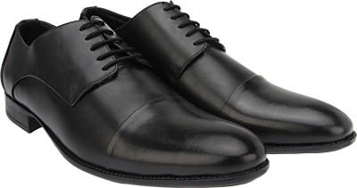 Brigit Derby Shoes Black Lace Up