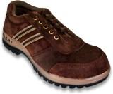 JK Port Mens Talent Brown Leather Safety...