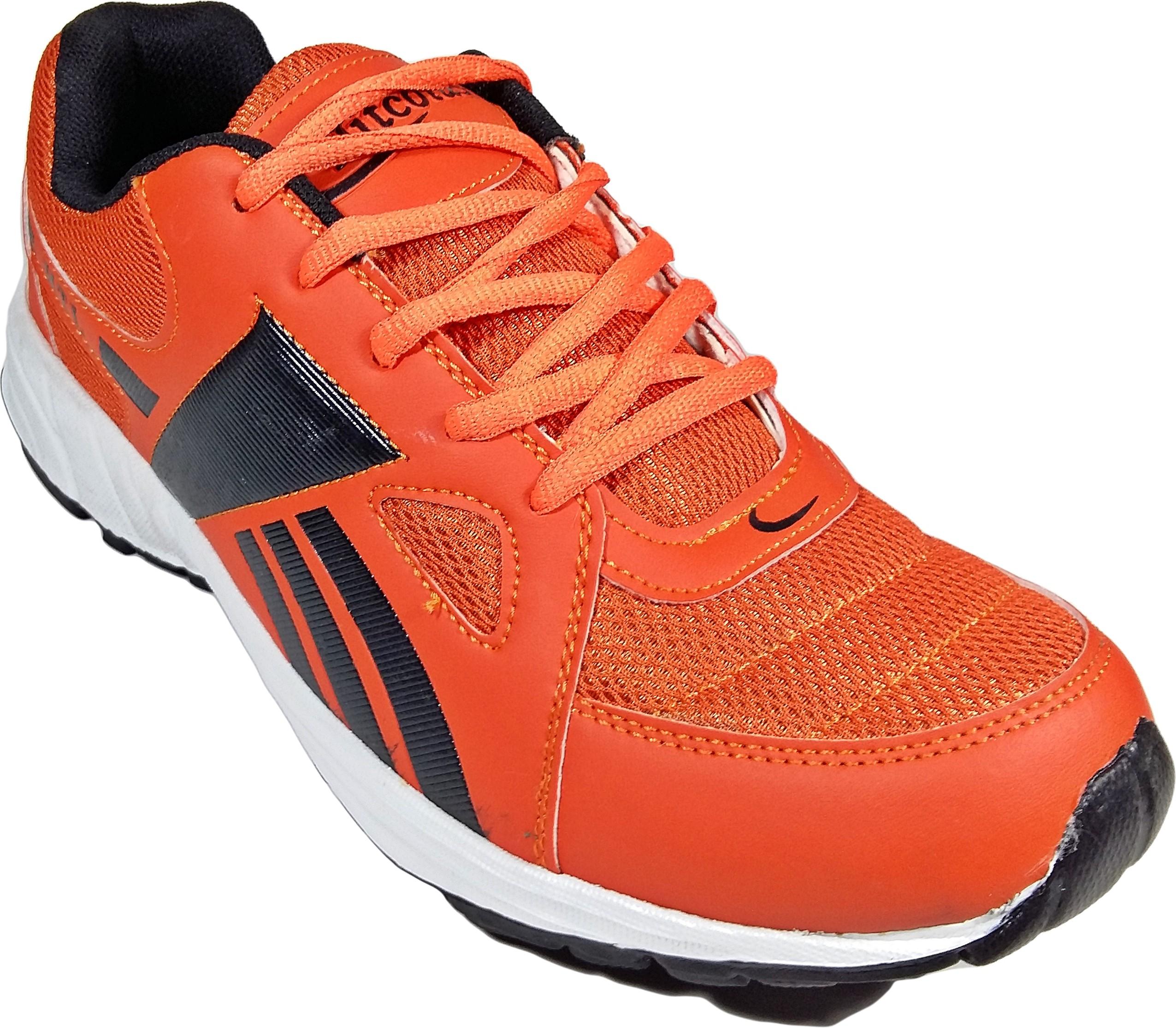 WBH Htl Orange Black Running Shoes