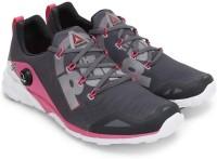 Reebok REEBOK ZPUMP FUSION 2.0 Running Shoes(Grey, Pink)