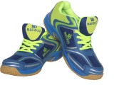 Blue Dot Badminton Shoes (Blue)